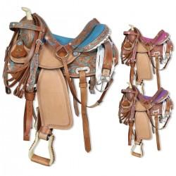 Silver Horse Georgia Western Saddle