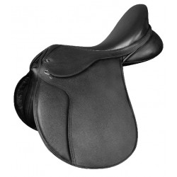 COMFORT JUMPING SADDLE, LEATHER