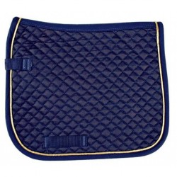 Saddle cloth with piping, Dressage