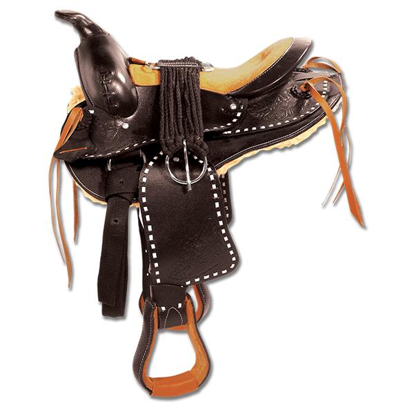 "Western Pony Saddle ""Bonanza"""
